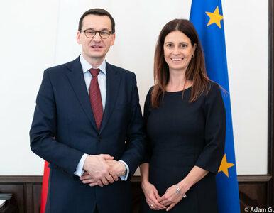 """Premier Morawiecki przedstawił kandydatkę na ministra sportu. """"Kobieta..."""