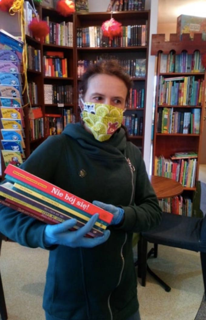 Księgarnia Badet wdobie epidemii