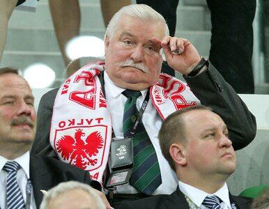 """Wałęsa w roli piłkarskiego eksperta. """"Polakom brakuje zgrania i kondycji"""""""