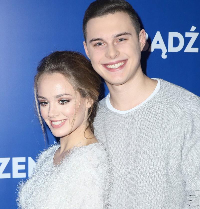 Wiktoria Gąsiewska i Adam Zdrójkowski