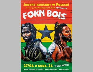 Weekend z AfryKamerą. Koncert hiphopowego duetu z Nigerii