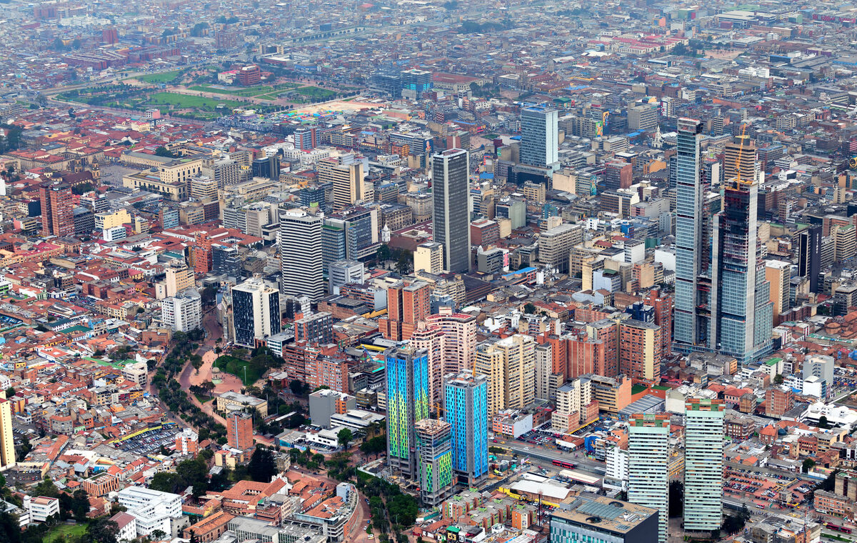 Bogota, stolica Kolumbii