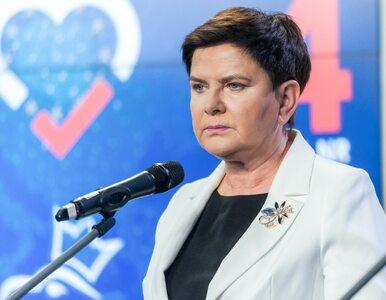 """Szydło z najlepszym wynikiem w wyborach do PE. """"Przestrzegam przed..."""