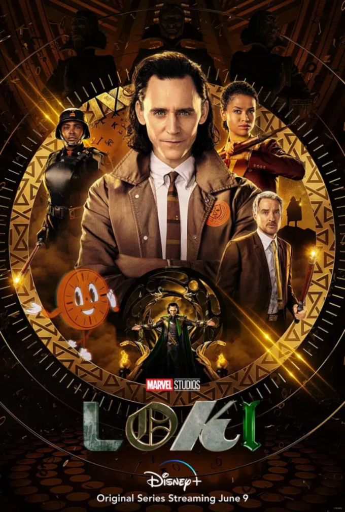"Plakat filmu ""Loki"""