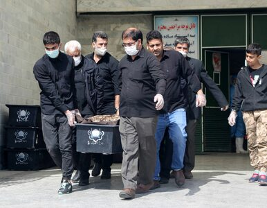 """""""Rekordowa"""" doba w Iranie. Najwięcej zgonów z powodu koronawirusa od..."""