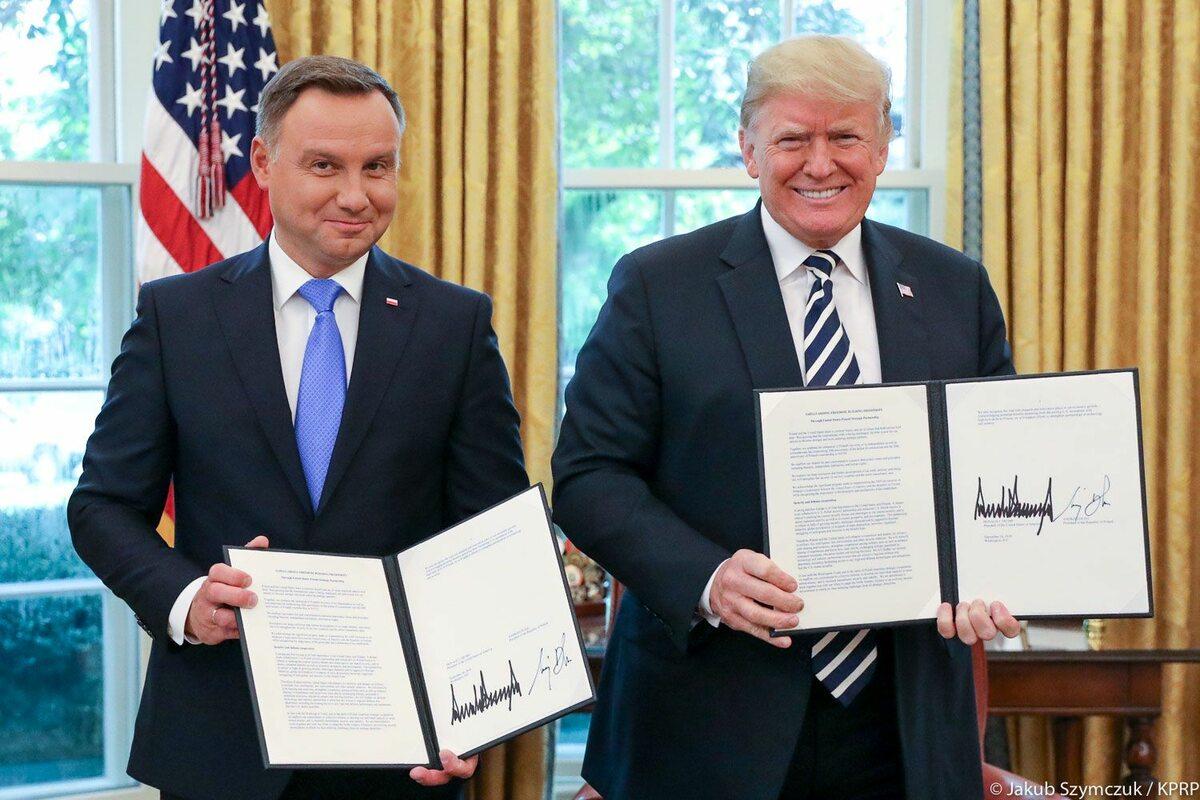 Wizyta prezydenta Andrzeja Dudy w Białym Domu