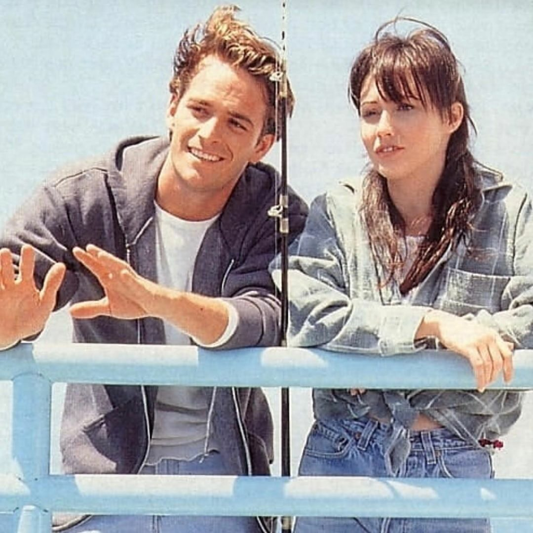 Shannen Doherty i Luke Perry
