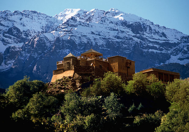 Kasbah du Toubkal - zamek, Maroko, od 274$/noc