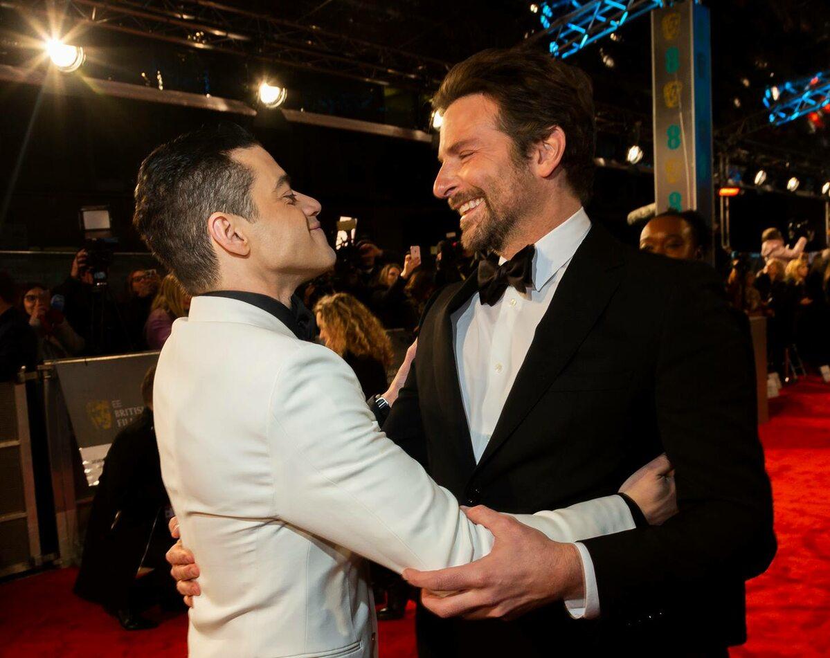 Rami Malek i Bradley Cooper