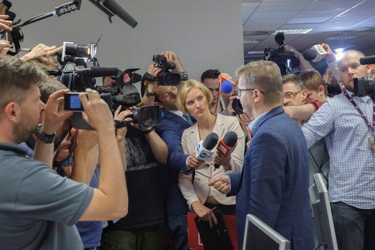 """ABW w redakcji """"Wprost"""" Fot. Dariusz Kanak"""