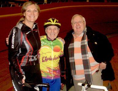 Ma 105 lat i właśnie ustanowił nowy rekord świata w kolarstwie....