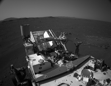 Film z lądowania łazika i... marsjański wiatr. NASA pokazała historyczne...