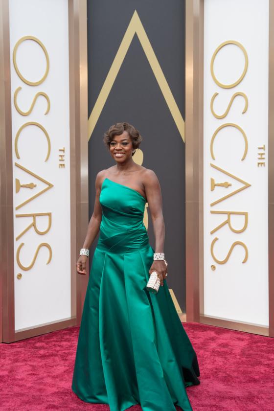 Viola Davis podczas 86. ceremonii rozdania Oscarów w 2014 roku