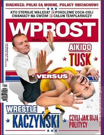 Okładka tygodnika Wprost nr 21/2009 (1376)
