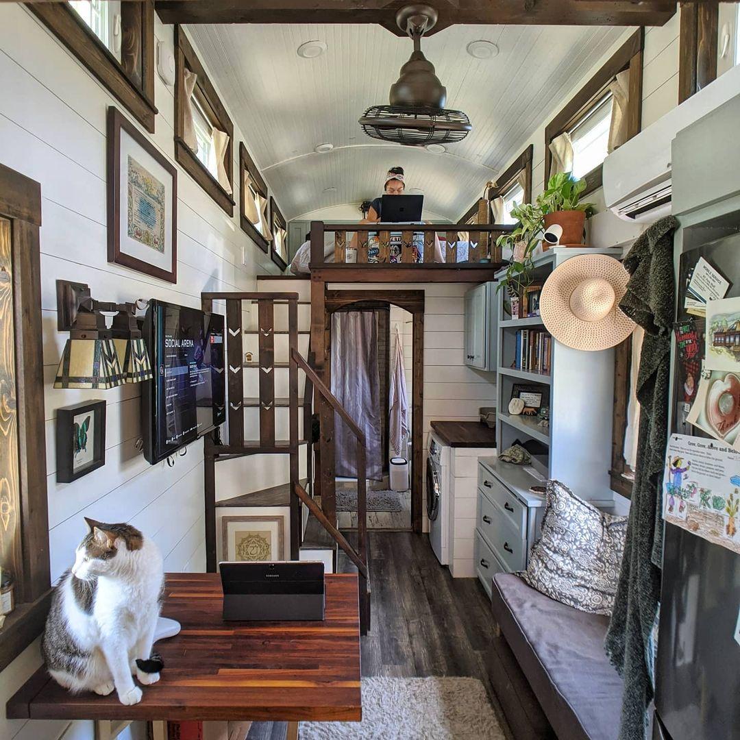 Mały dom i ciekawe rozwiązania