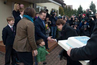 Beata Szydło z rodzinami o Programie 500+