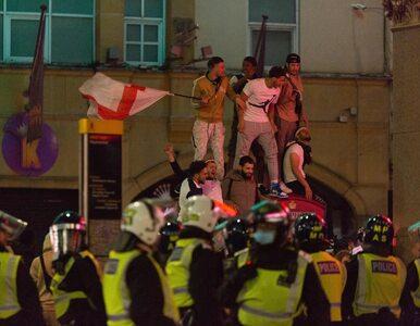Angielscy kibice świętowali awans do finału Euro 2020. Zatrzymano 20 osób