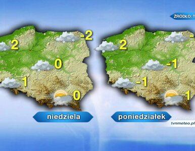 Pogoda na weekend. Śnieg i temperatury poniżej zera