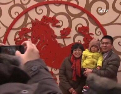 Milion Chińczyków przyjechało do Pekinu świętować nowy rok