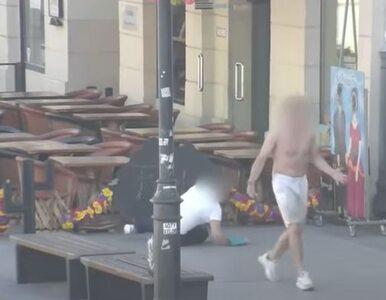 Bez powodu uderzył w twarz turystkę w centrum Warszawy. Interwencja...