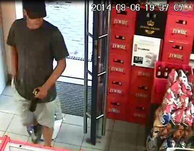 Uderzył ekspedientkę butelką i okradł sklep. Poznajesz go?