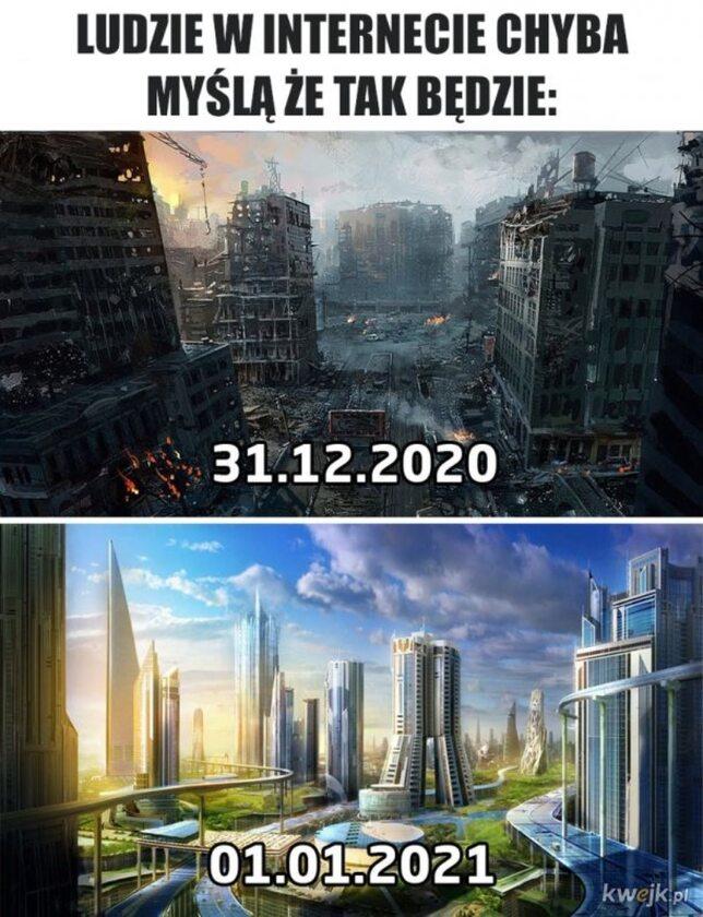 Mem z okazji Nowego Roku