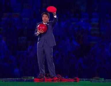 Ceremonia zamknięcia igrzysk. Premier Japonii przebrany za Super Mario...