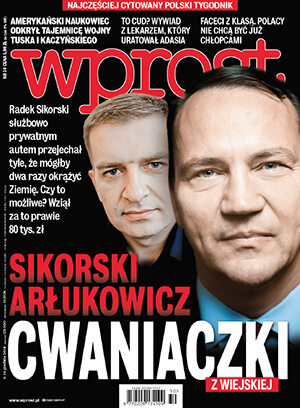 Okładka tygodnika Wprost nr 50/2014 (1658)