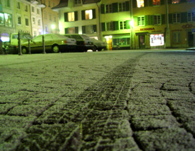 Pierwsze opady śniegu w Polsce