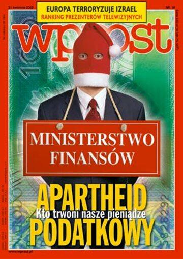 Okładka tygodnika Wprost nr 16/2002 (1012)
