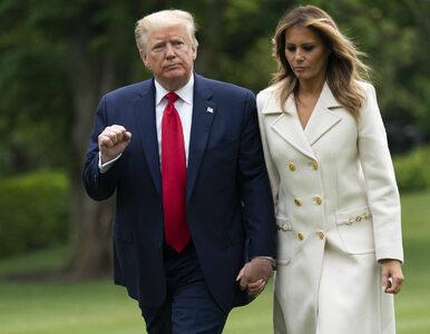Wpadka czy poczucie stylu? Melania Trump odwiedziła cmentarz w płaszczu...
