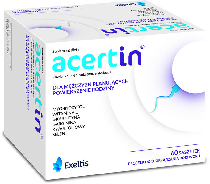 Acertin, suplement diety
