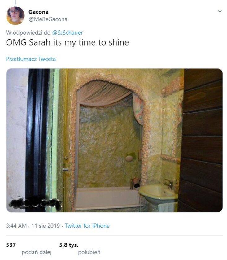 Łazienka trolla jaskiniowego?