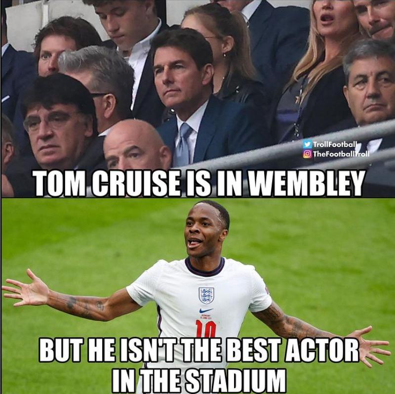 Tom Cruise pojawił się na Wembley, ale to nie on był najlepszym aktorem