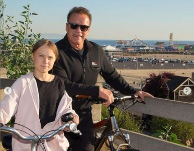 Thunberg i Terminator na przejażdżce rowerowej. To przepis na pół...
