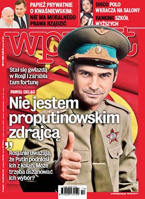 Okładka tygodnika Wprost nr 14/2014 (1622)