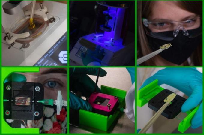 Prototyp urządzenia opracowanego przez badaczy zRice University.