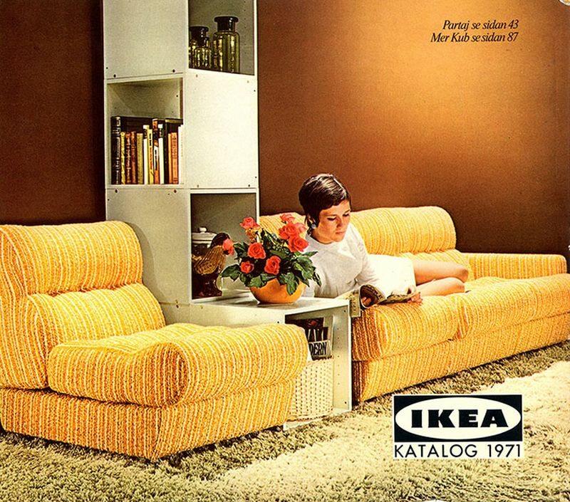 Okładka katalogu IKEA z 1971 roku