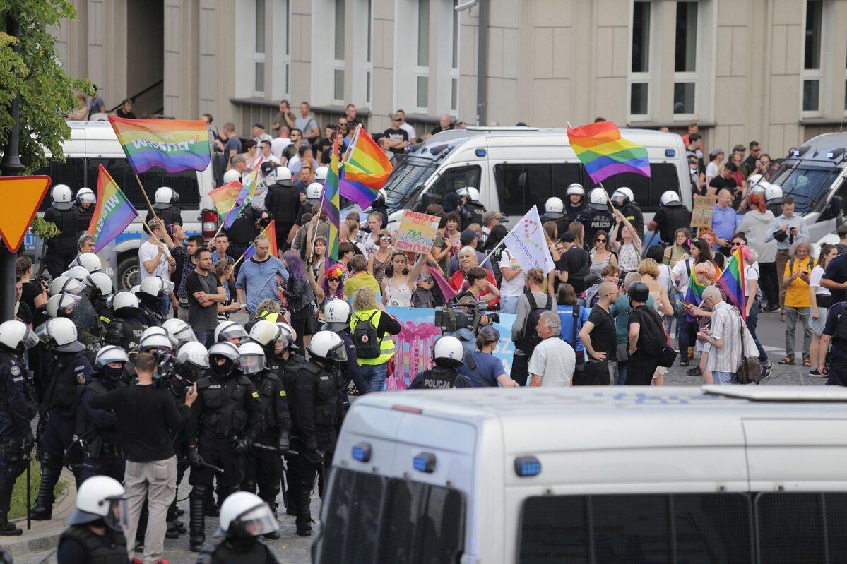 Policyjne zabezpieczenie Marszu Równości