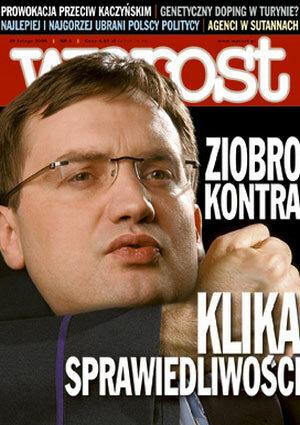 Okładka tygodnika Wprost nr 8/2006 (1211)