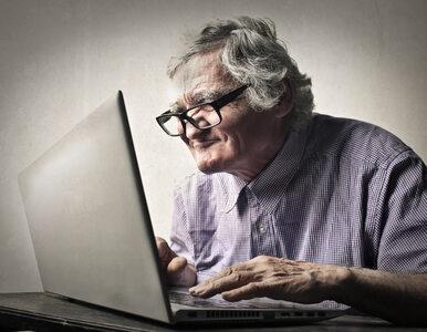 Co czwarty Polak po 50-tce nie miał nigdy do czynienia z internetem