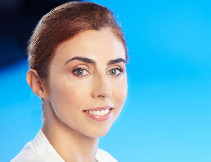 Dr Kamila Padewska, właścicielka kliniki Oricea