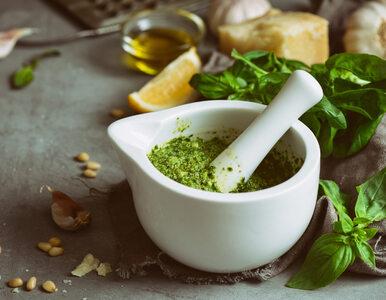 Pesto – pyszna zielona pasta, która rewelacyjnie wspomaga serce