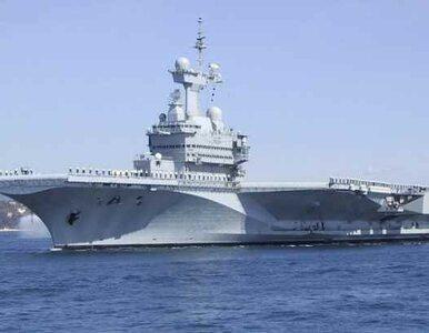 Charles de Gaulle włączył się do operacji przeciw Libii