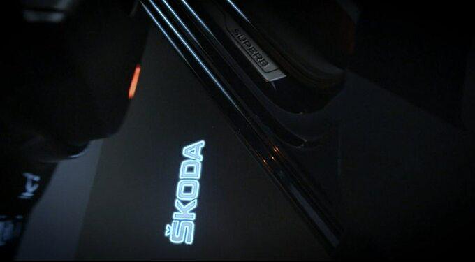 Skoda Superb (teaser)
