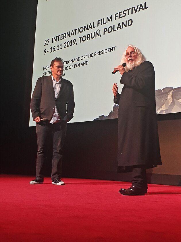 Quentin Tarantino i Robert Richardson