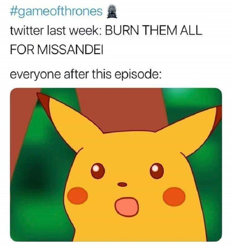 Po śmierci Missandei wszyscy chcieli, żeby Daenerys spaliła miasto, a teraz:
