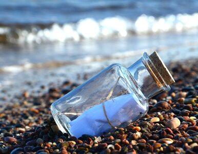 11-latka wrzuciła do Bałtyku list w butelce. Dopłynął do Jastrzębiej Góry