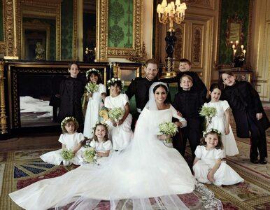 Oto pierwsze oficjalne zdjęcia ślubne Meghan Markle i księcia Harry'ego....