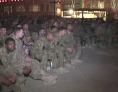 Żołnierze Bundeswehry i US Army kibicowali w Afganistanie